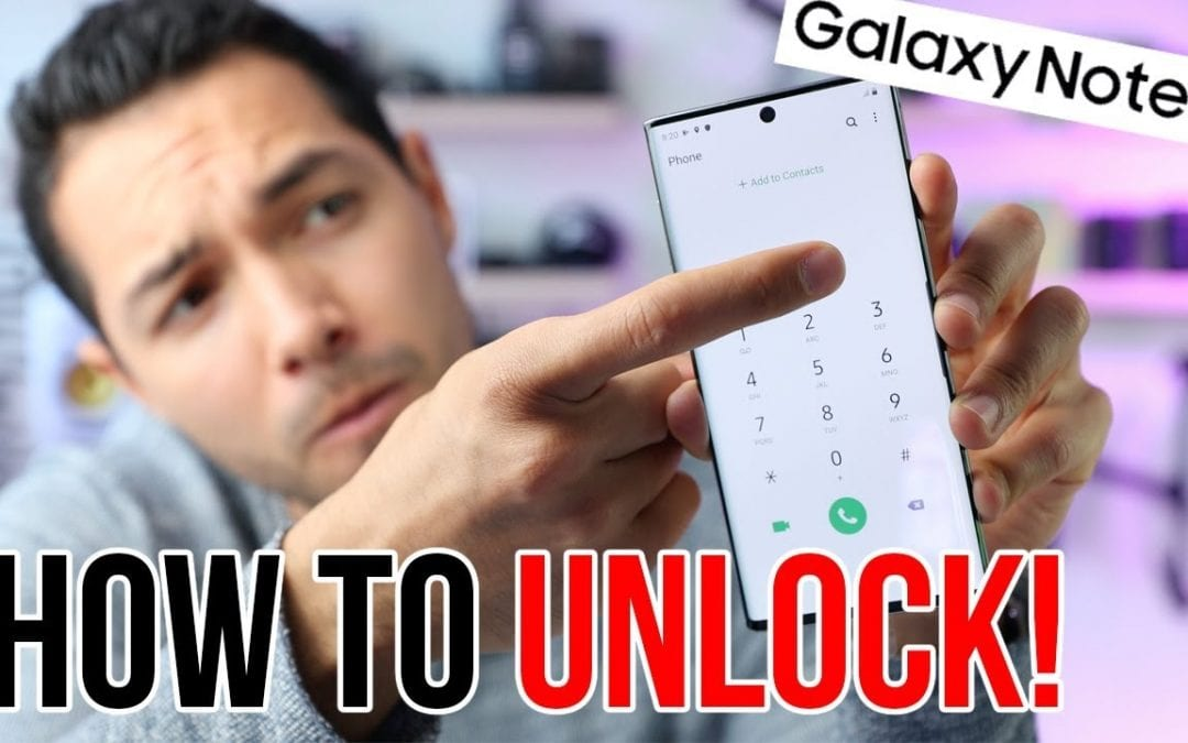 The Easiest Way to Unlock Samsung Galaxy Note 10 Plus